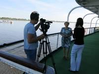 Интервью с директором круиза теплохода Александр Свешников