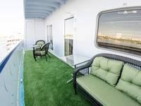 балкон каюты люкс