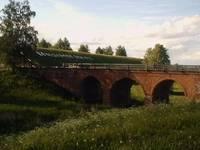 Мост над рвом у Кремля