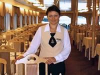 Ресторан «Ладога» теплохода «Виссарион Белинский»