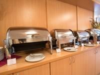 Ресторан «Онега» теплохода «Георгий Чичерин»