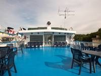 Шлюпочная палуба за баром «Нева» теплохода «Феликс Дзержинский»