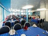Ресторан «Ладога» на средней палубе теплохода «Феликс Дзержинский»