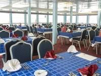 Ресторан «Волга» на главной палубе теплохода «Феликс Дзержинский»