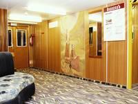Холл шлюпочной палубы теплохода «Михаил Фрунзе»