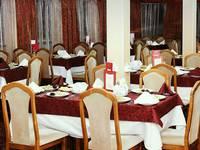 Ресторан на главной палубе теплохода «Михаил Фрунзе»