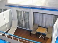 Балкон каюты Люкс и П/Люкс
