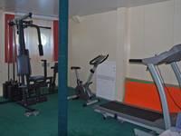 Тренажерный зал теплохода «Александр Радищев»