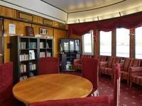 Читальный салон на средней палубе