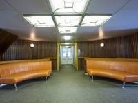 Холл на шлюпочной палубе теплохода «Георгий Жуков»